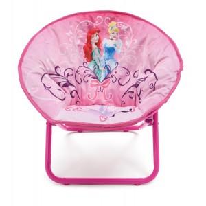 Ružová stolička do dievčenskej izby