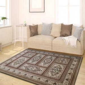 Zlatý vintage koberec do obývačky