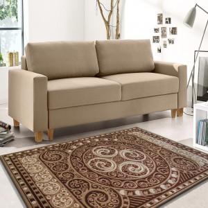 Krásny vzorovaný koberec kusový