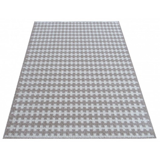 Luxusný béžový koberec kusový