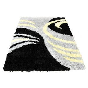 Pazúriky sivý koberec shaggy