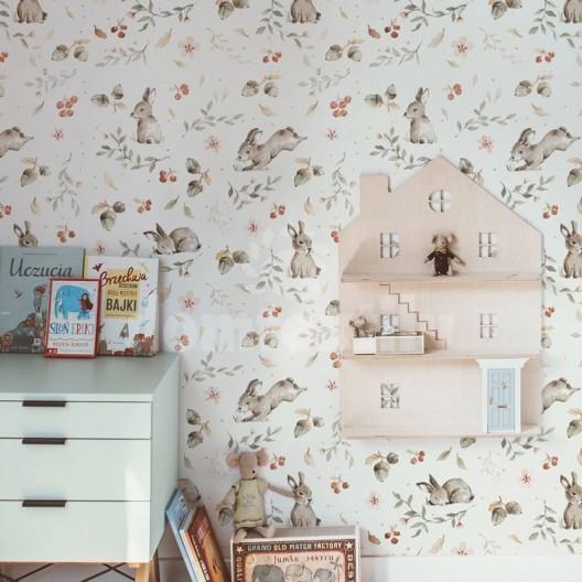 Tapety na stenu s motívom zajačikov