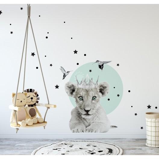 Malý leví kráľ nálepka na stenu