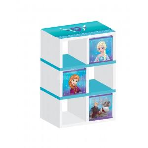 Regál na hračky s motívom rozprávky Ľadové kráľovstvo