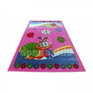 Krásny detský koberec pre dievčatá