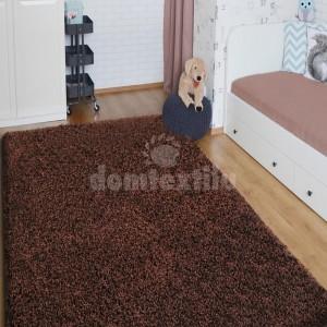 Čokoládový koberec SHAGGY