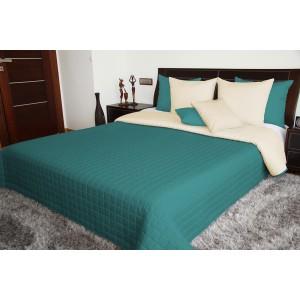 Denná prikrývka na posteľ s prešívaným vzorom