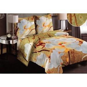 Mäkké posteľné obliečky s kvetmi