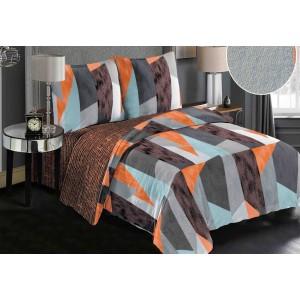 Moderné vzorované posteľné návliečky 200x220