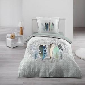 Obliečky na posteľ bavlnené v modernom dizajne INAJI