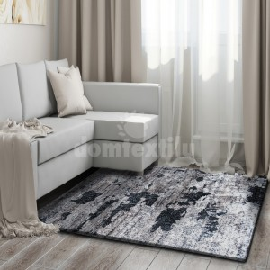 Kusový koberec v hnedej farbe do spálne