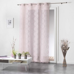 Elegantné ružové záclony LOZAE