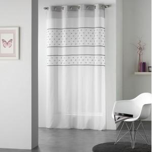 Luxusné záclony bielej farby TELMO