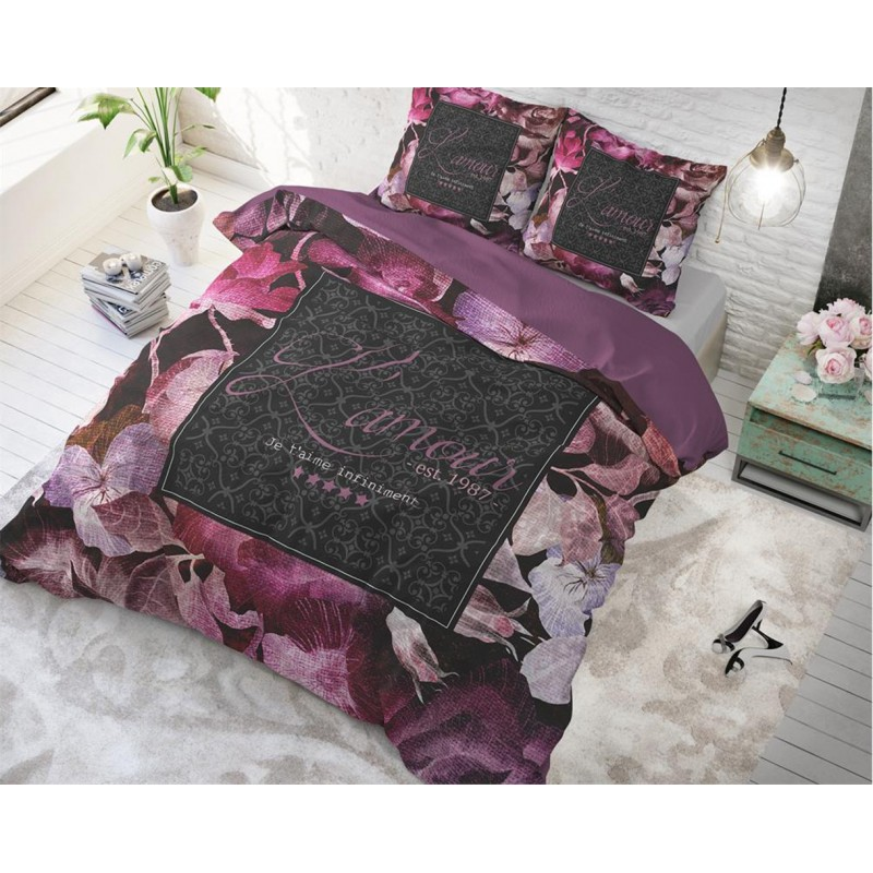 Luxusné kvetinové posteľné obliečky VINTAGE AMOUR 2f27c5f052f
