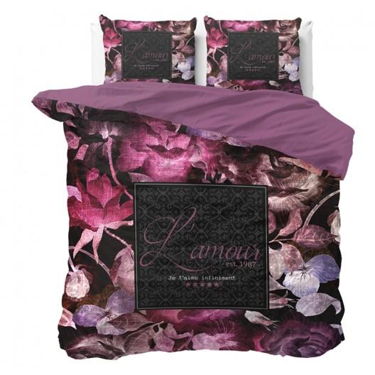 Luxusné kvetinové posteľné obliečky VINTAGE AMOUR