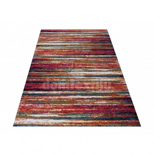 Moderný farebný koberec do obývačky