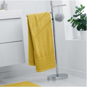 Mäkký uterák žltej farby
