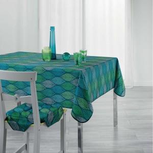 Štýlový obrus na stôl s efektom listov WINTER