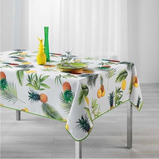 Obrus na stôl s pestrou potlačou FRESH ANANAS