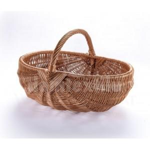 Oválny pletený košík