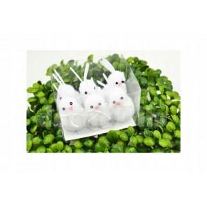 Malé dekoračné zajačiky