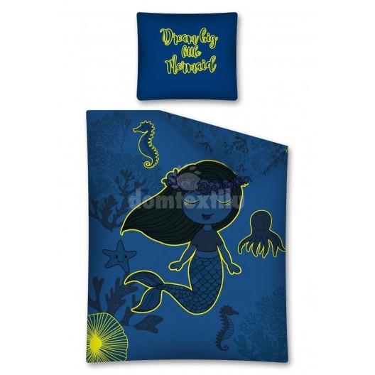 Obliečky s morskou pannou ktorá svieti v tme
