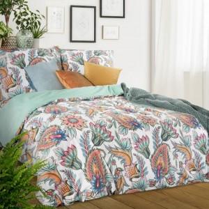 Moderné bavlnené posteľné obliečky s pestrofarebným motívom
