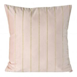 Luxusná obliečka na vankúš v ružovej farbe