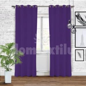 Moderné závesy fialovej farby s vysokým stupňom zatemnenia