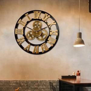 Štýlové hodiny z dreva