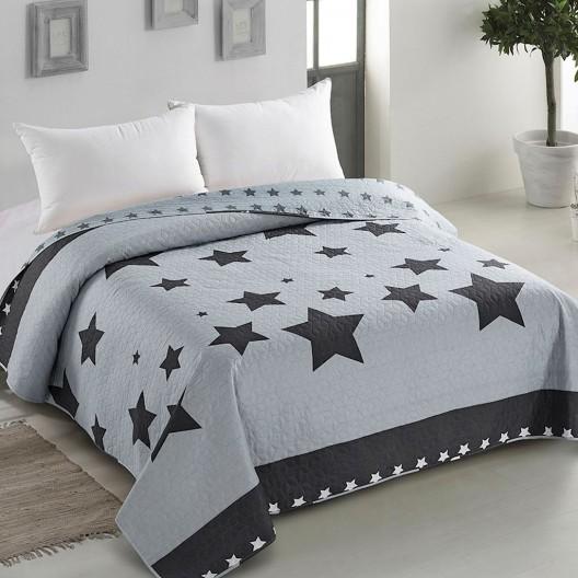 Luxusný prešívaný prehoz na posteľ s originálnym dizajnom