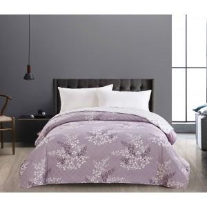 Kvalitné prehozy na posteľ fialovej farby