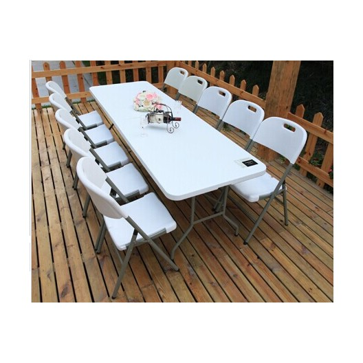 Skladací cateringový stôl do záhrady