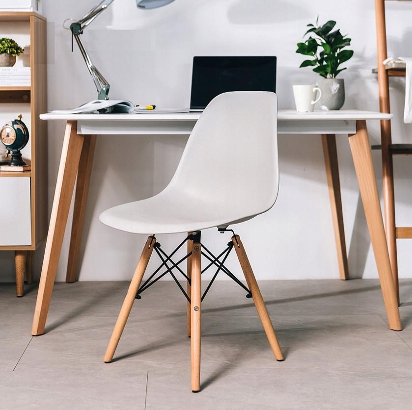 DomTextilu Moderná stolička v sivej farbe do kuchyne 14623