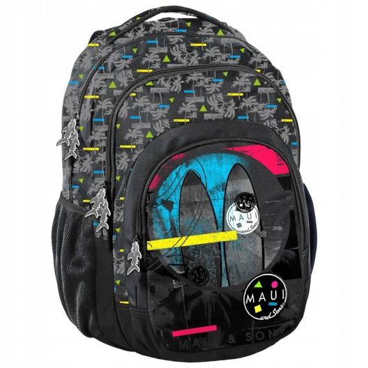 Originálny chlapčenský batoh pre stredoškolákov s peračníkom a vakom