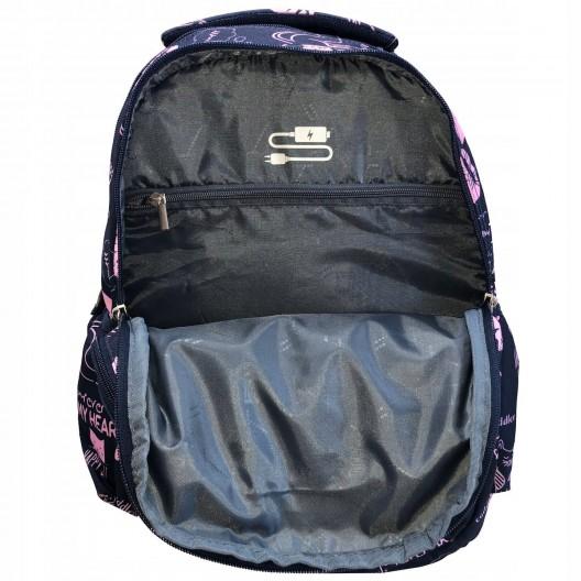 Školská taška na kolieskach s výsuvnou rúčkou v trojkombinácii