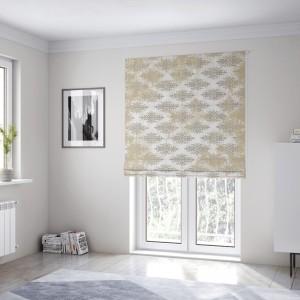 Trendy okenné rolety šité na mieru v starožitnom barokovom designe