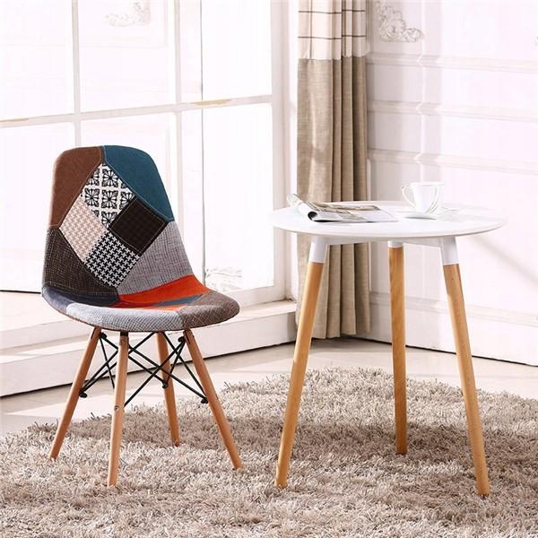 DomTextilu Moderná a pohodlná stolička s elegantným vzhľadom 14847