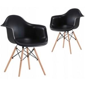 Moderná kuchynská stolička v elegantnej čiernej farbe