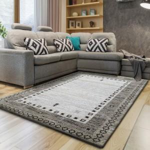 Originálny koberec v béžovej farbe