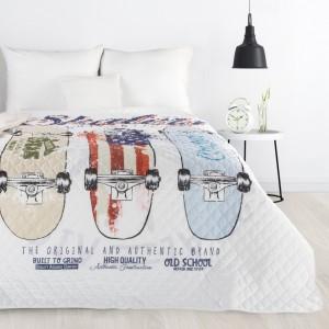 Moderná prešívaná prikrývka na posteľ do detskej izby