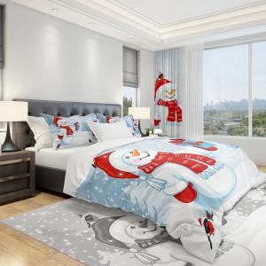 Posteľné obliečky s vianočným motívom