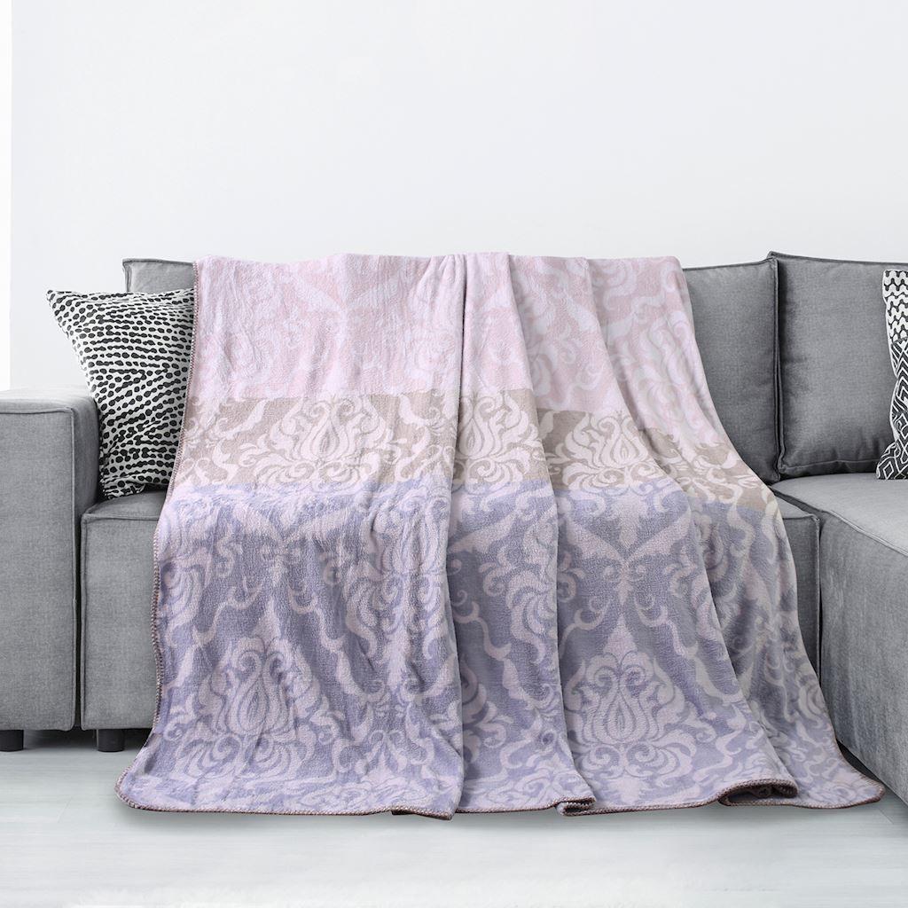 DomTextilu Jemná deka s ornamentom Šírka: 70 cm | Dĺžka: 150 cm 16379-111067