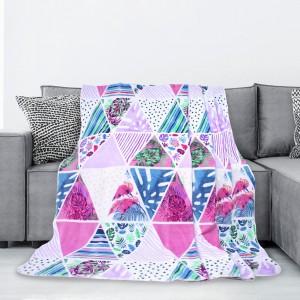 Kvalitná farebná deka z mikrovlákna