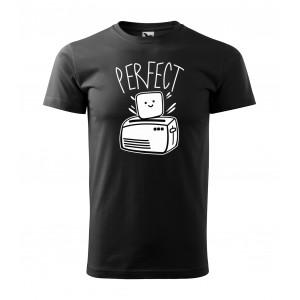 Pánske valentínske tričko s originálnou potlačou