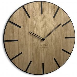 Luxusné hodiny z dreva Wood Art