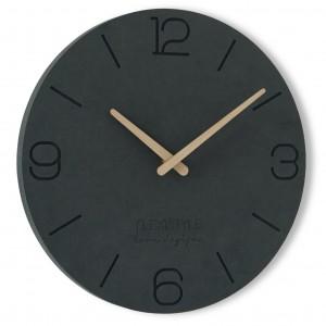 Moderné nástenné hodiny z dreva s priemerom 30cm