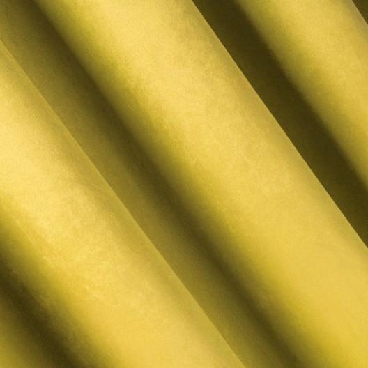 Štýlový tieniaci závesy v horčicovej farbe