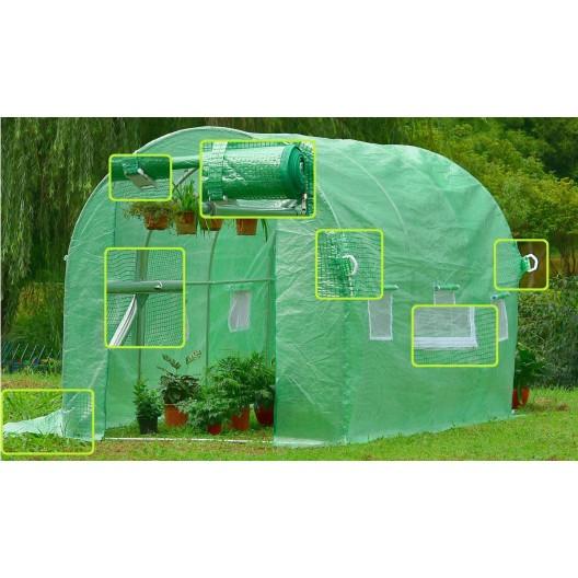 Záhradný fóliovník 2 m x 3 m