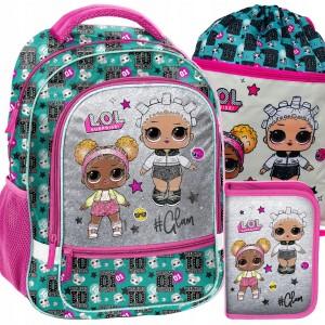 Školská taška s príslušenstvom L.O.L. Surprise